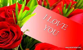 janu i love u wallpaper red roses