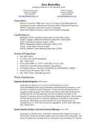Auditor Job Description Resumes Dans Resume Chrono