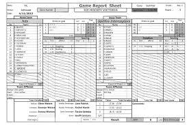 Hockey Score Sheet Best Guest Writer Brendan Parsons On Scorekeeping Nick Does Hockey