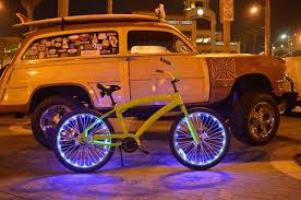 Orange Wheel Lights Cloak Your Wheels In Disco Light W Soul Beach Cruzers Leds