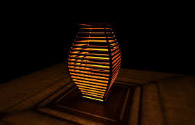 artistic lighting. Artistic Lamp C 3d Model Obj Stl 1 Lighting