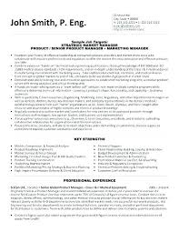Marketing Manager Resume Examples Product Marketing Manager Resume ...