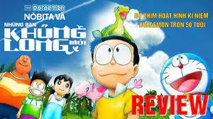"""Review phim Doraemon: Nobita và Những người bạn khủng long mới – Hình như  Nobita phiên bản """"pha ke"""" - YouTube"""