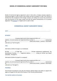 Download or preview 11 pages of pdf version of agency agreement (doc: 47 Sample Agency Agreements In Pdf Ms Word