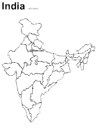 India Map2 Countries Coloring Pages Coloring Book Elementary