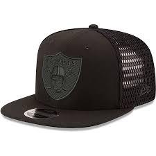 thumb.aspx?i\u003d/productimages/_2924000/altimages/ff_2924648alt1_full.jpg\u0026w\u003d900 Men\u0027s Oakland Raiders New Era Black Mesh Fresh Tonal 9FIFTY