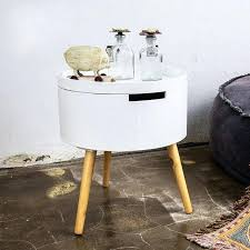 small coffee table with drawer small round table storage house sofa side table simple round small small coffee table with drawer