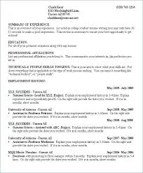 Resume Examples For College Students With Little Experience Gorgeous Star Format Resume Technical Resume Template Beautiful Star Format