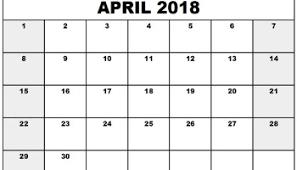april 2018 word calendar april 2018 word calendar