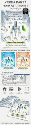 vodka party free flyer psd template facebook cover s