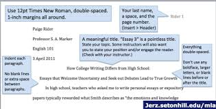 Sample Of Mla Paper Mla Format Papers Step By Step Tips For Writing Research Essays