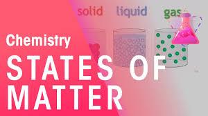 States Of Matter Solids Liquids Gases Properties Of Matter Chemistry Fuseschool