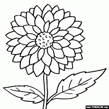 big flower coloring pages coloring page fun with elegant big flower with regard to big coloring