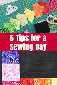 5 Tips for a Sewing Day • The Crafty Mummy &  Adamdwight.com