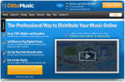 Ditto Music Chart Registration Dittomusic Review Your Music Distributed To All Digital