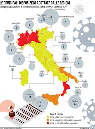 Vigono le misure restrittive più morbide previste dal dpcm. Covid Italia Divisa In Zone Cosa E Vietato E Cosa E Possibile Fare Nelle Regioni Rosse Arancioni E Gialle Tgcom24