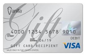 tips for using your vanilla gift card