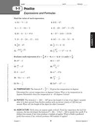 practice the order of operations with these free math worksheets 368990