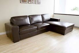 Delighful Leather Sectional Sofa Bed Couches Ikea Living Room Sets Inside Ideas