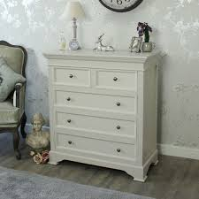 mushroom grey wooden large chest of drawers bedroom furniture country interiors