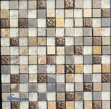 glass stone mosaic tile glass stone metal blend mosaic tile 1 x 1 glass stone mosaic glass stone mosaic tile