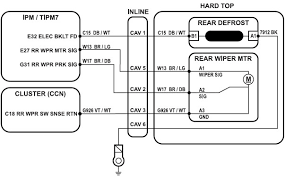rear wiper motor wiring diagram wiring diagram and schematic design 2 sd wiper motor wiring image details