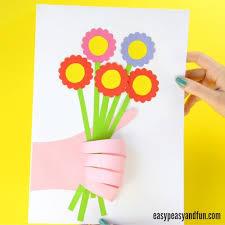 Paper Flower Crafts For Kindergarten 25 Wonderful Flower Crafts Ideas For Kids And Parents To Make