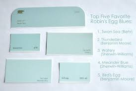watery paint colorThe Quest for the Perfect Robins Egg Blue  Centsational Style