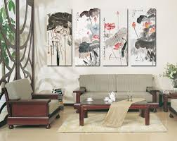 >2018 wall art chinese painting large wall pictures for living room  4 piece wall art chinese painting large wall jpg