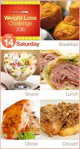 Planned Meals For A Week Delicious Two Week Weight Loss Challenge For Weight Watchers