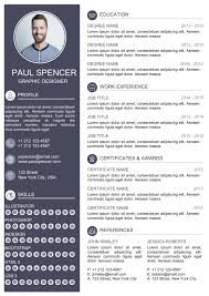 Unique Resume Cool Do A Unique Cv Design Resume Design By Ahmad60