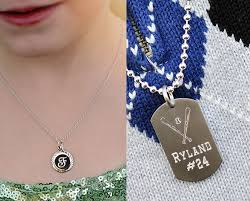 girls boys personalized necklaces