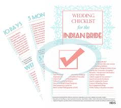 bridal checklist free bridal checklist tips to plan an indian wedding design your