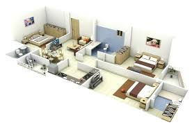 3d 3 bedroom house plans image gallery of inspiring ideas house