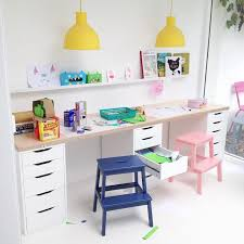 kids desk. If You\u0027ve Got To Design A Study Space Be Used By Two At The Same Time, One Of Tricks You Can Use Is Have Long Desk That Kids