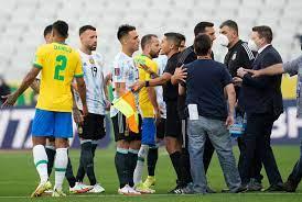 Brazil-Argentina Match Stopped When ...