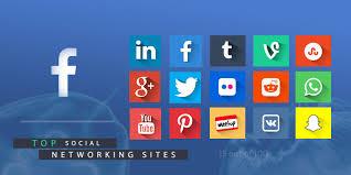 """Résultat de recherche d'images pour """"pictures of social media sites"""""""