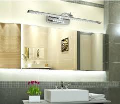 led bathroom lighting ideas. Bathroom Mirror With Led Lights Trendy Idea Above Ideas Lighting Vanity Pertaining To Modern House