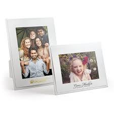 standard white photo frames easel back photo frame