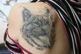 фото наколка рысь татуировка рысь Tattoo Lynx 15 фото татуировки