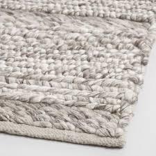 gray chunky sweater wool allegra area rug world market chunky wool rug diy