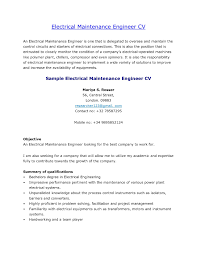 Power Plant Mechanic Sample Resume Bunch Ideas Of Mechanical Maintenance Engineer Resume Format In 11