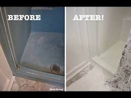 diy shower and tub refinishing how to paint an old shower thrift diving