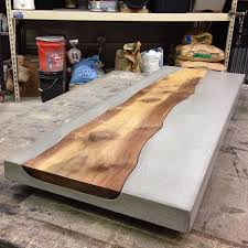 concrete and wood furniture. Counter Top Idea For The Cottage. Concrete And Wood Furniture U