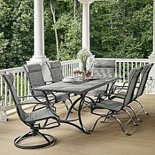7 piece patio dining set. Sutton Rowe Fillmore 7 Pc. Ceramic-Top Dining Set *Limited Availability Piece Patio