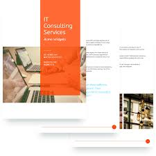 It Consulting Proposal Template IT Services Proposal Template Free Sample 15