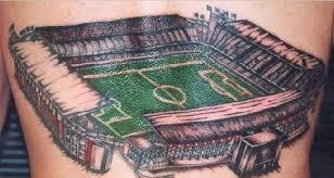 Fotbal A Tetování