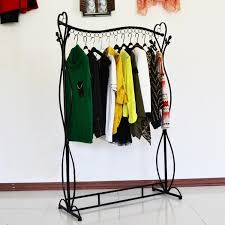 Heavy Duty Coat Rack With Shelf Wardrobe Racks glamorous metal clothing rack metalclothingrack 33