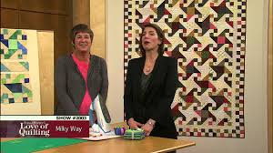 Love of Quilting: How to Make the Milky Way Quilt (2003) - YouTube & Love of Quilting: How to Make the Milky Way Quilt (2003) Adamdwight.com