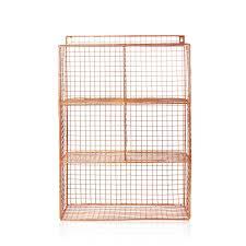 full size of cabinet appealing wire wall shelf 18 953092 oliver bonas homeware grid five unit